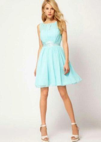 Фото стильных коротких платьев
