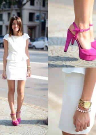 61e81e94307 Платья в мелкий и крупный горошек или полоску также в тренде в этом сезоне.  Если ваще летнее белое платье с узором или принтом