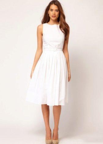 красивое и простое платье в пол