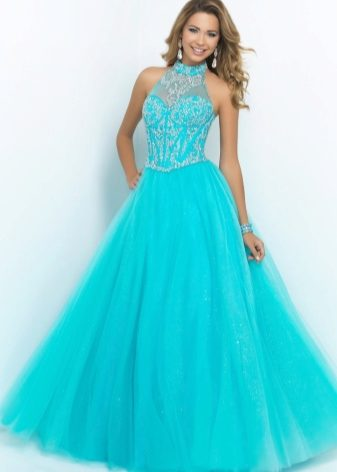 Пышные красивые длинные платья