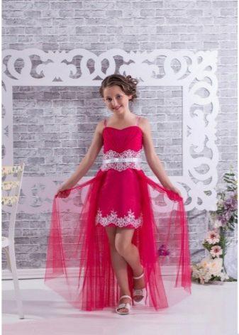 Платья для девочек со шлейфом фото 11