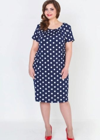 cfdeb83b0e2 Летние платья для полных женщин (116 фото) 2019  больших размеров ...