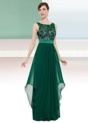 Фасоны вечерних платьев 2018 (58 фото): модные, из шифона, летние, русалка, простого фасона