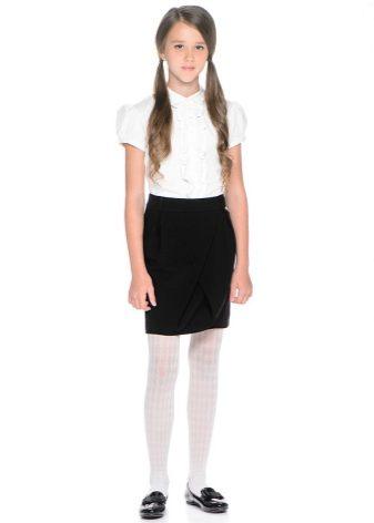 Школьные длинные юбки для девочек
