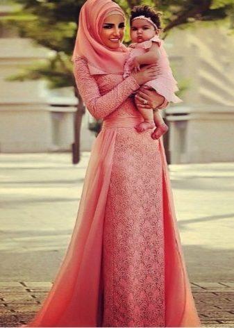 Выкройки платьев для мусульманок