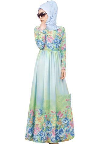 Платья штапель мусульманские