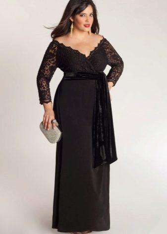 Vestidos de noche para mujeres obesas