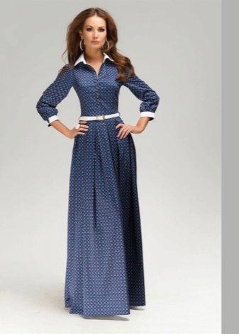 Платье длинное строгое фото