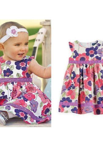 21a2fdd96b0 Платье А-образного силуэта – не только дань «взрослой» моде