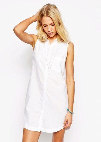 Платье без плеч но с рукавами