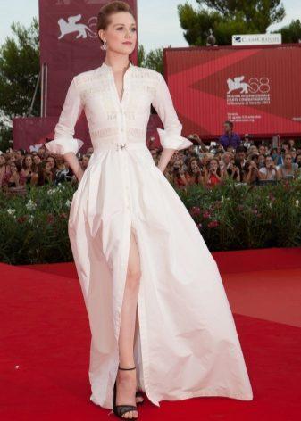 7b498581a3a Выбирайте платья-рубашки макси длины из летящих тканей  шелка