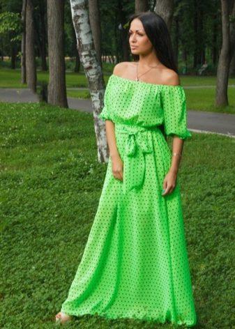 Фасон платье крестьянка