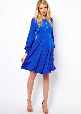 Платье от груди для беременных