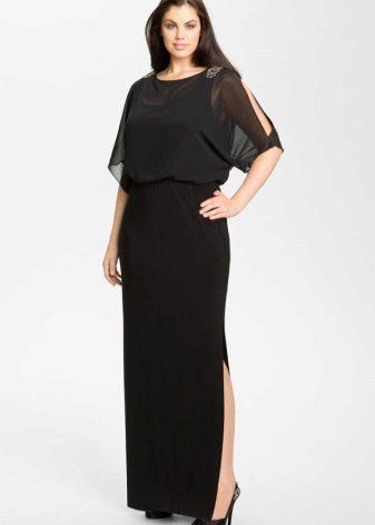 Платья из шифона для полных женщин (59 фото): больших размеров, красивые, нарядные, модели