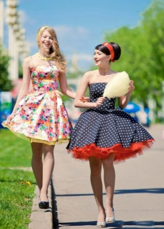 Стиляги платья юбки