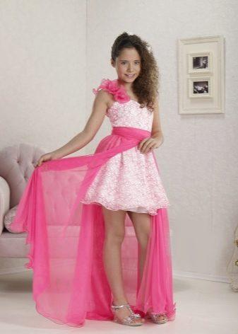 Платья для девочек со шлейфом 11 лет