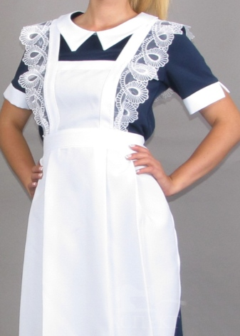 Красивые платья с фартуком