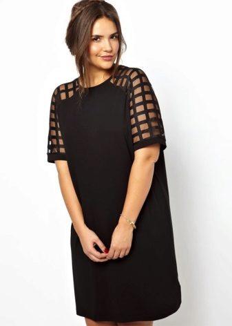 Фасону платьев для полных дам