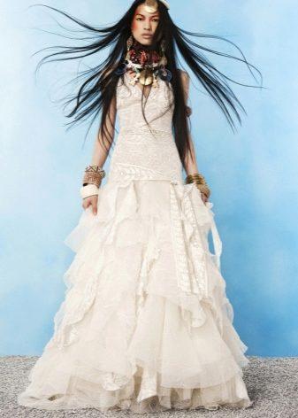 Платки к свадебному платью
