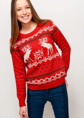 Скандинавский свитер