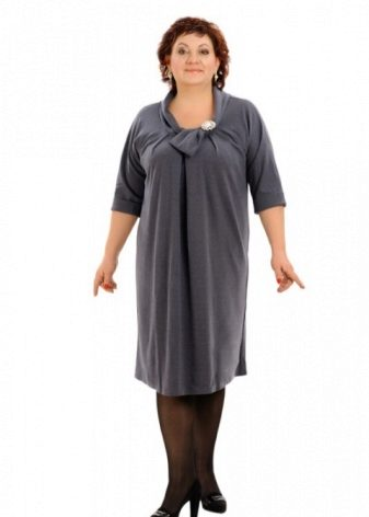274461899 Платья трикотажные больших размеров (64 фото): для полных женщин