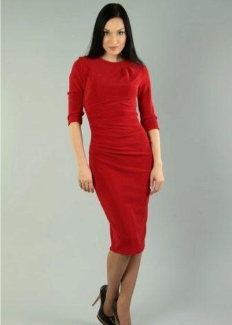 Красное вечернее платье 2018 (75 фото): макияж, маникюр, образы, кружевное, красивое, красно-белое, с чем носят