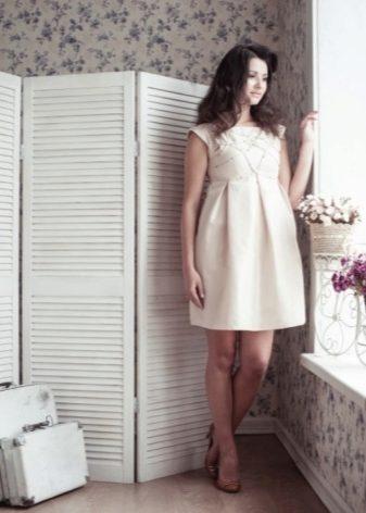 Вечерние и коктейльные платья для беременных 2018 (57 фото): красивые, длинные, короткие