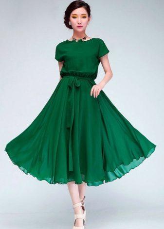 Фасоны вечерних платьев до колен