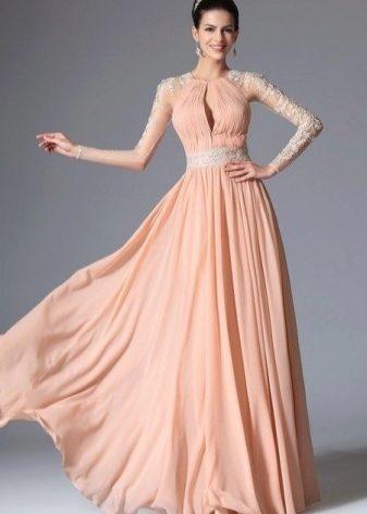 5e54aacd7ae Вечерние платья с длинным рукавом