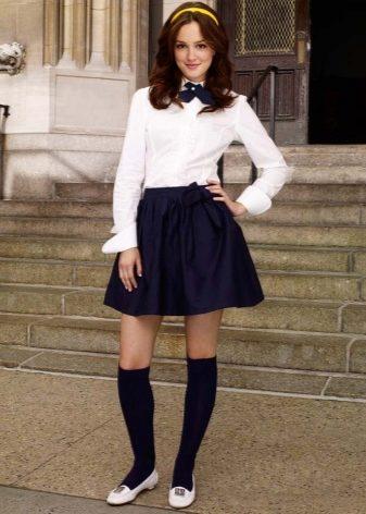 d3abb305509 Популярность в школьную форму и в особенно популяризацию юбки-трапеции