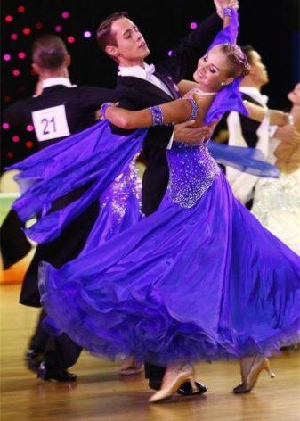 474297917f6c6f1 Бальные платья (66 фото): красивые для бальных танцев, юниоры 1 ...