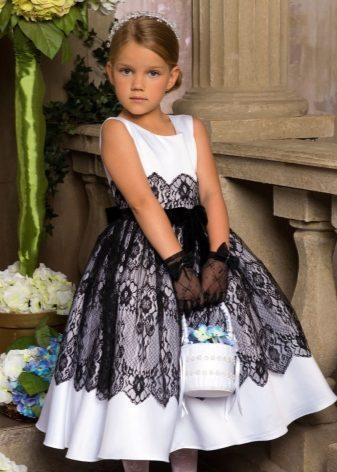Вечернее платье для девочек 7 лет