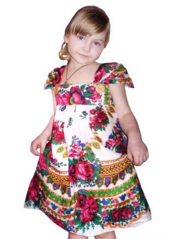 изящные детские сарафаны из мотивов