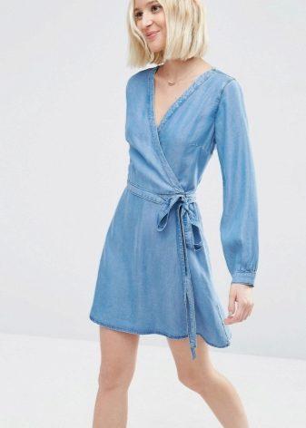 01f0270df63 Джинсовые платья 2019 (184 фото)  модные новинки