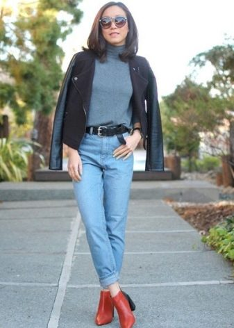 Джинсы-американки: с чем носить, с высокой талией, кому идут