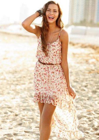 Модели платьев и сарафанов на лето