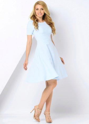 bc3630a006c Голубое платье 2019 (96 фото)  с чем носить