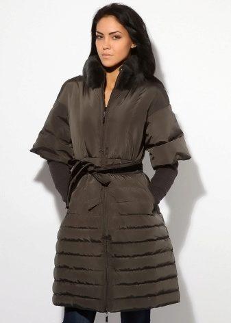 Итальянское пальто (61 фото): пуховые, из мохера, с соболем, из плащевки, элитные бренды
