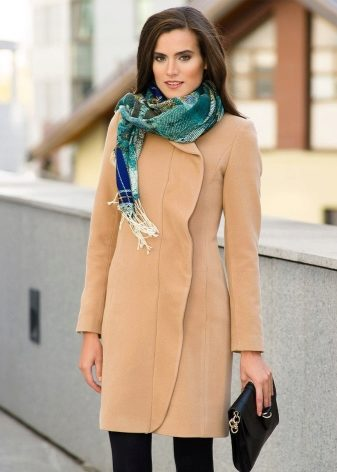Как завязать шарф на пальто (54 фото): красиво, как подобрать по цвету, с английским воротником, видео