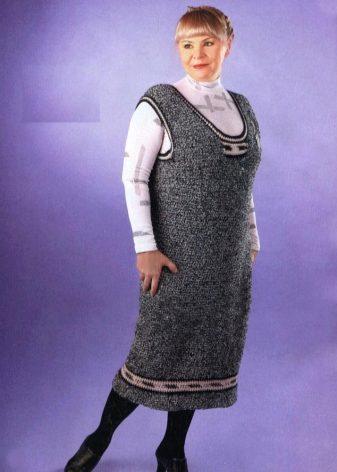сарафаны больших размеров для полных женщин 69 фото хлопок