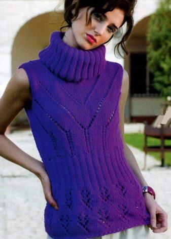 f132c7b8304d Under en sweater kan du bære en kjole eller en strikket trøje med ærmer og  så får du et sæt tøj med effekten af lagdeling.