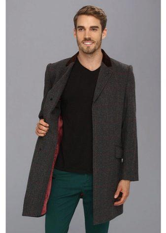 Обычно английское пальто имеет однобортный дизайн, но в некоторых  исключениях используется и двубортный. Известное изделие характеризует  потайная застежка и ... 238b4720e65