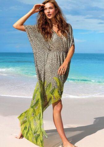 Как пошить себе пляжное платье