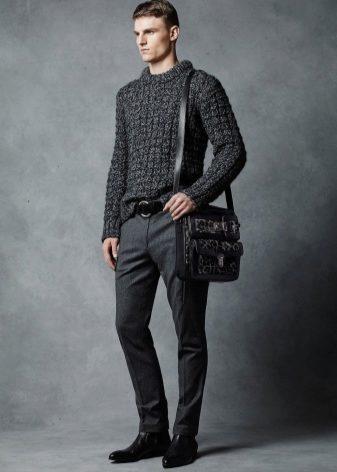 Зауженные мужские штаны (53 фото): черные, классические, хаки, военные