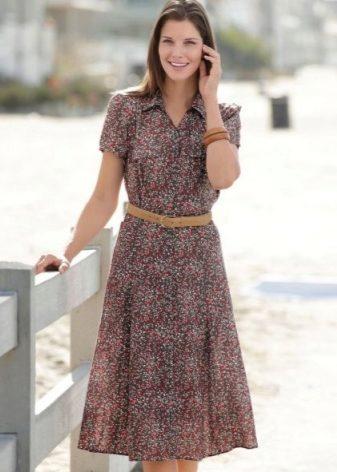 Застежка в летнем платье