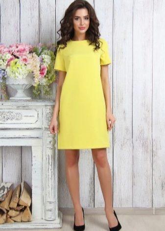 Короткие летние повседневные платья