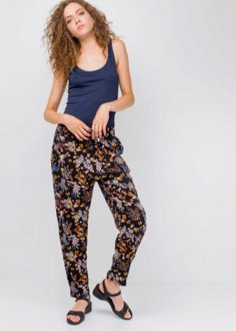 d9290486461a Белые джинсы с цветочным принтом с чем носить