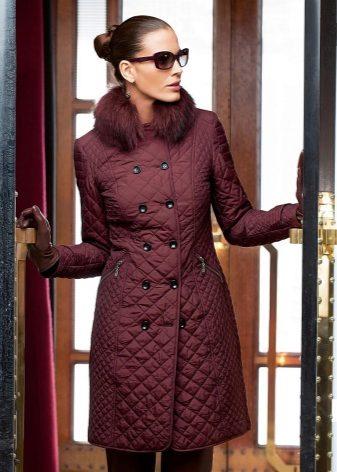 Балоневые пальто женские модные фото 92