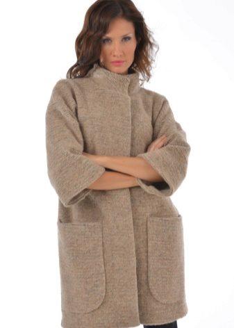 женское вязаное пальто 129 фото 2019 с капюшоном для полных