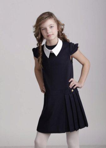 Трикотажные школьные платья для девочек